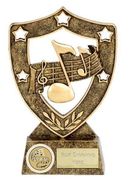 Music Celebration Shield Trophy
