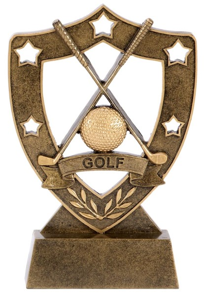 Shieldstar Golf Resin Trophy