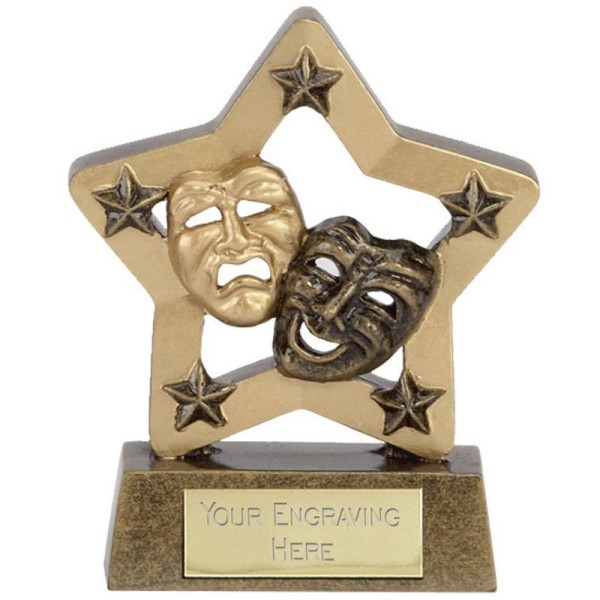 Budget Star Resin Drama Trophy