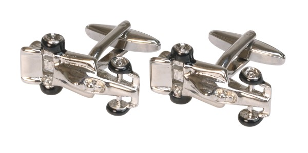 Racing Car Novelty Cufflinks