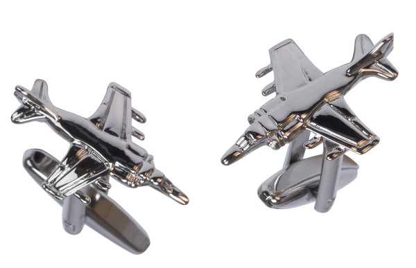 Fighter Plane Cufflinks