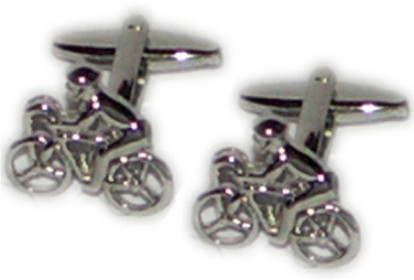 Cyclist Novelty Cufflinks