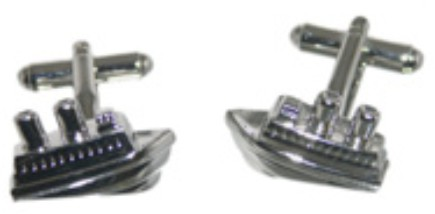 Ship Novelty Cufflinks
