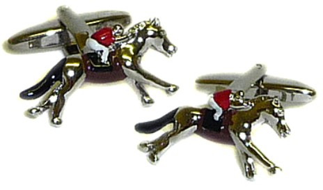 Horse Race Novelty Cufflinks
