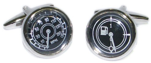 Speedo & Fuel Guage Novelty Cufflinks