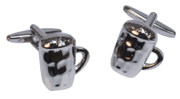 Beer Glasses Novelty Cufflinks