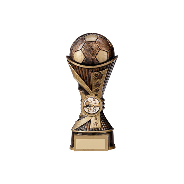 All Stars Football Heavyweight Antique Bronze & Gold 180mm