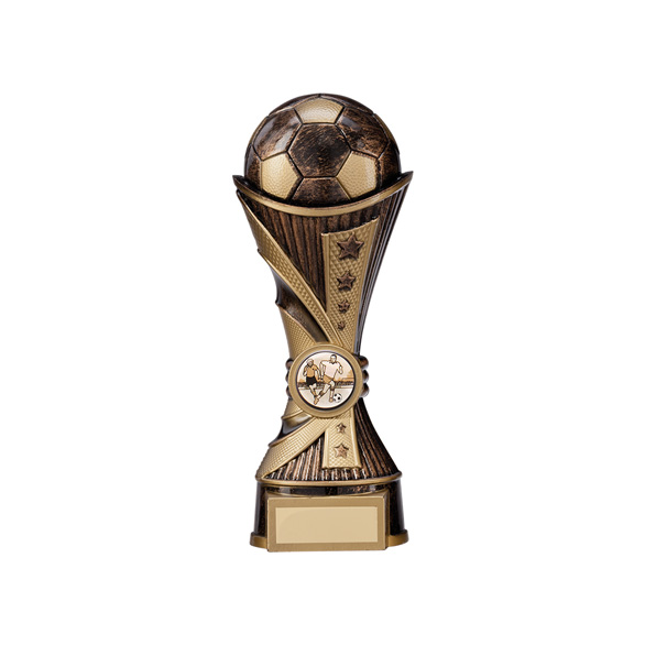 All Stars Football Heavyweight Antique Bronze & Gold 200mm