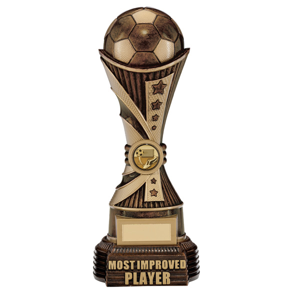 All Stars Most Improved Player Award Antique Bronze & Gold 260mm