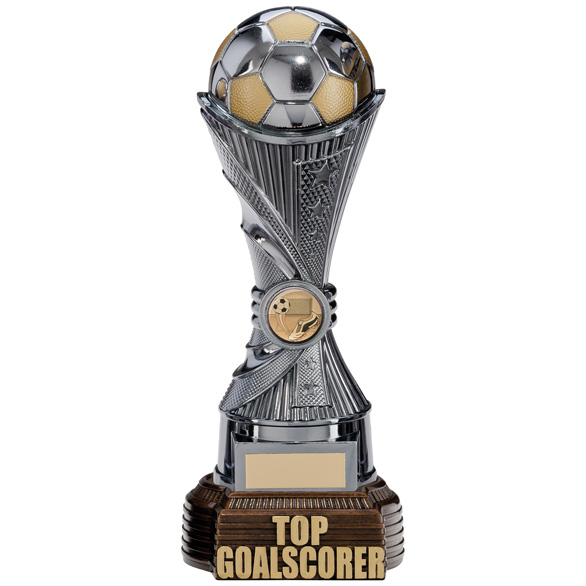 All Stars Top Goalscorer Award Gunmetal & Gold 260mm