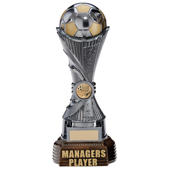 All Stars Managers Player Award Gunmetal & Gold 260mm