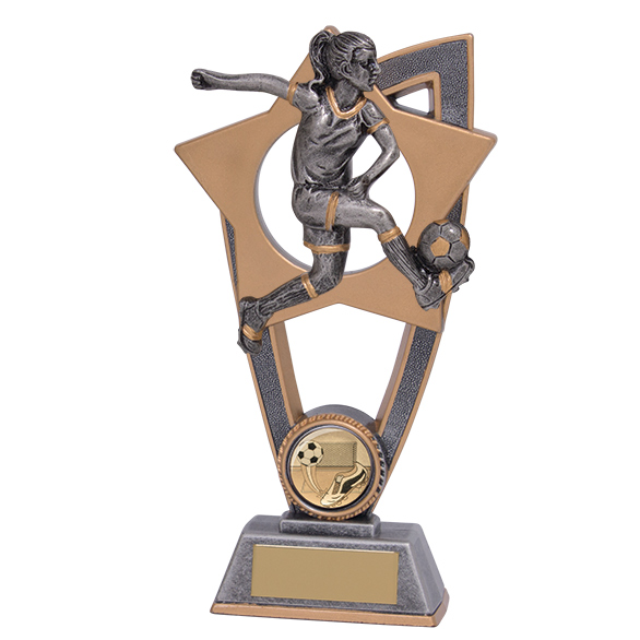 Star Blast Football Female Award 180mm