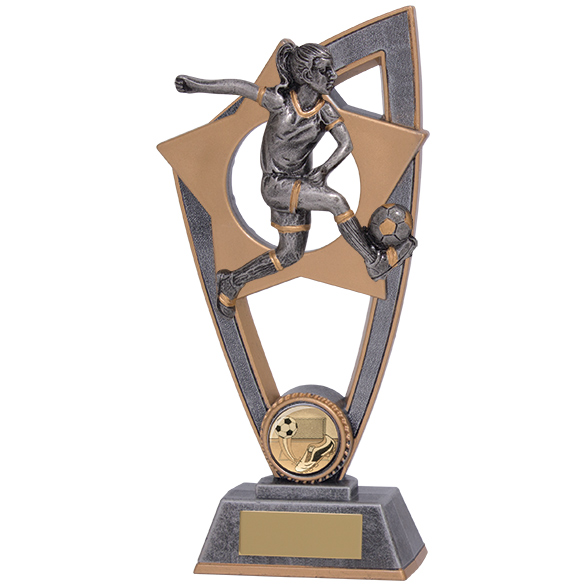 Star Blast Football Female Award 200mm