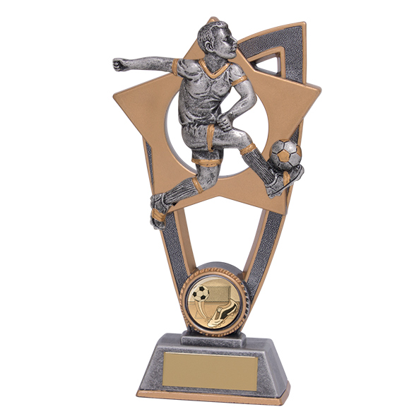 Star Blast Football Male Award 180mm