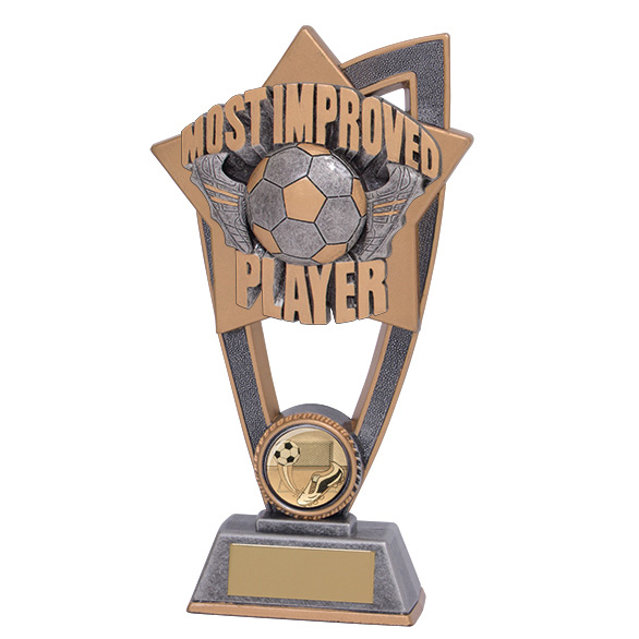 Star Blast Most Improved Player Award 180mm