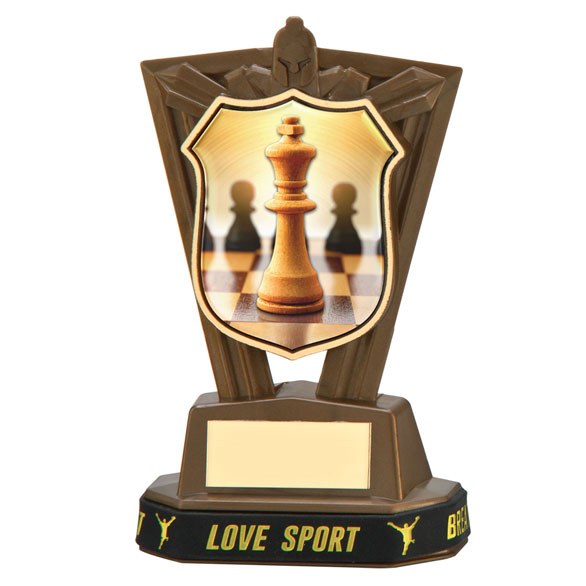 Titans Chess Plastic Award & TB 140mm