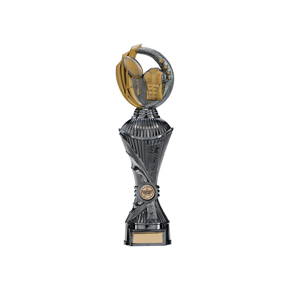 Renegade Rugby Heavyweight Award Gunmetal & Gold 320mm
