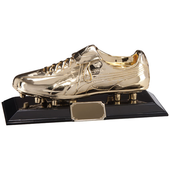 Classic Puma King Golden Boot Award 320x125mm