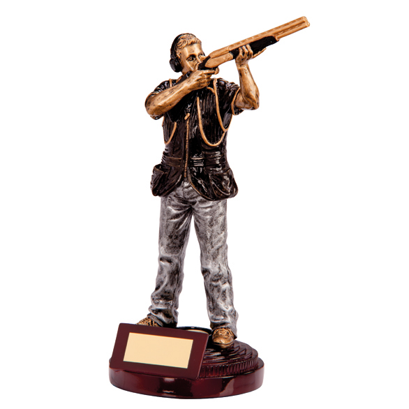 Trendsetting Clayshooter Shooting Trophy