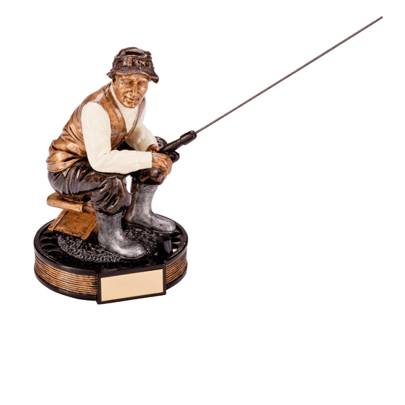 The Challenger Fisherman Figure 160mm
