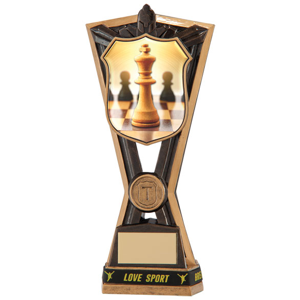 Titans Chess Award & TB 185mm