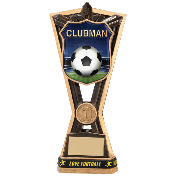Titans Football Clubman Award & TB 185mm