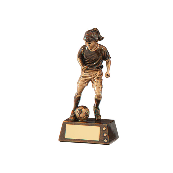 Protege Girl Football Award 125mm
