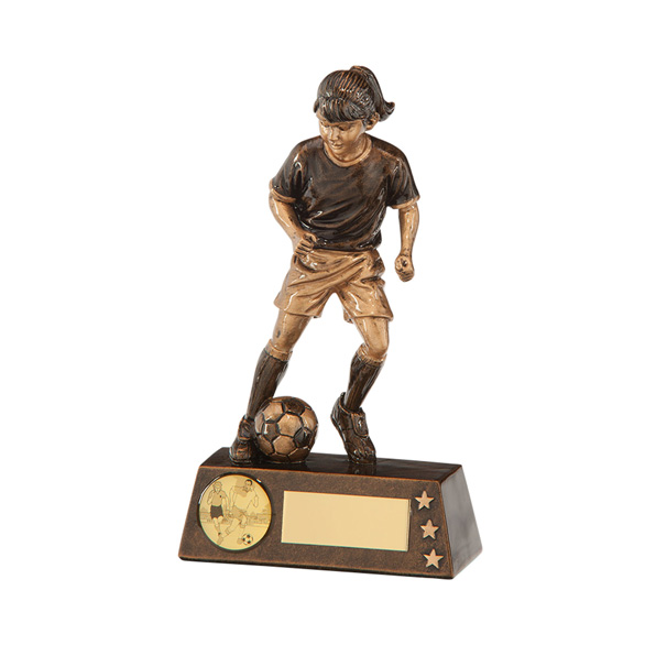 Protege Girl Football Award 150mm