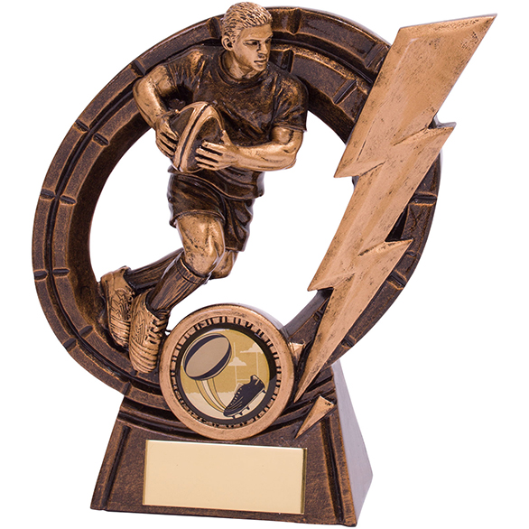 Thunderbolt Rugby Award 125mm