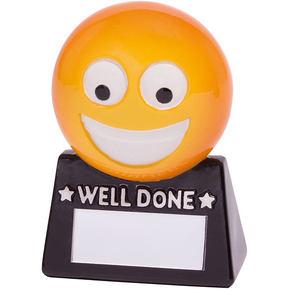 Smiler Well Done Fun Award 85mm