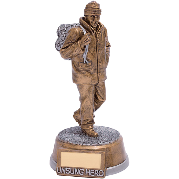 Unsung Hero Football Award 195mm