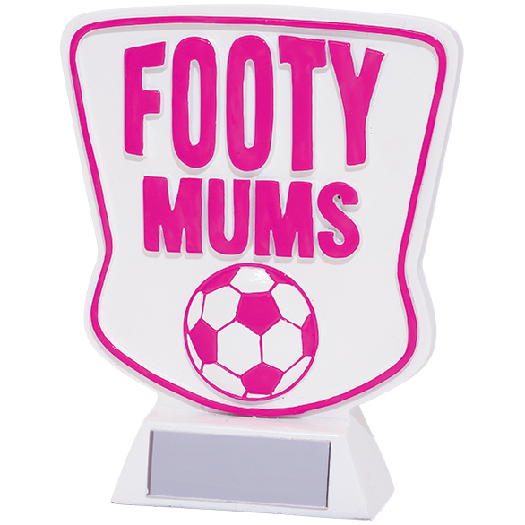 Footy Mums Football Award 120mm