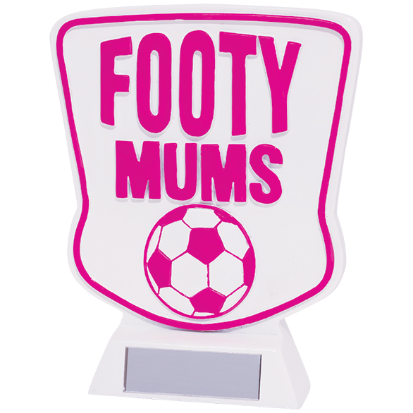 Footy Mums Football Award 140mm