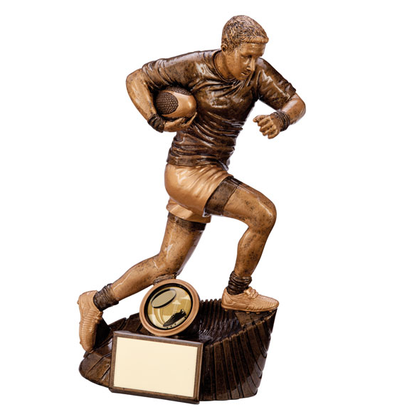 Raider Rugby Figure Award 200mm