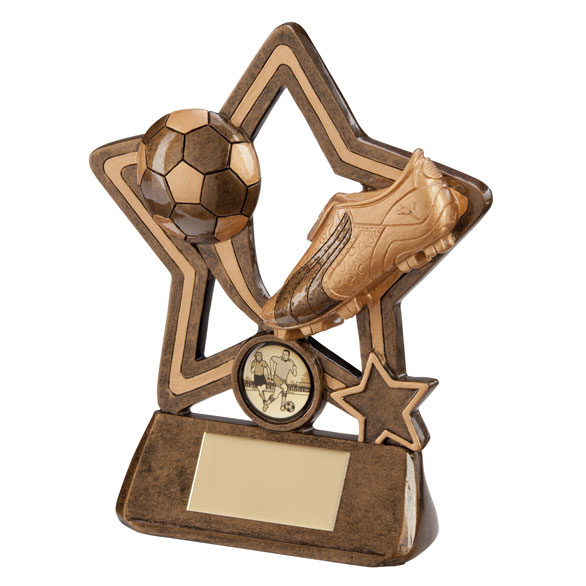 Puma Little Star Football Plaque 130mm