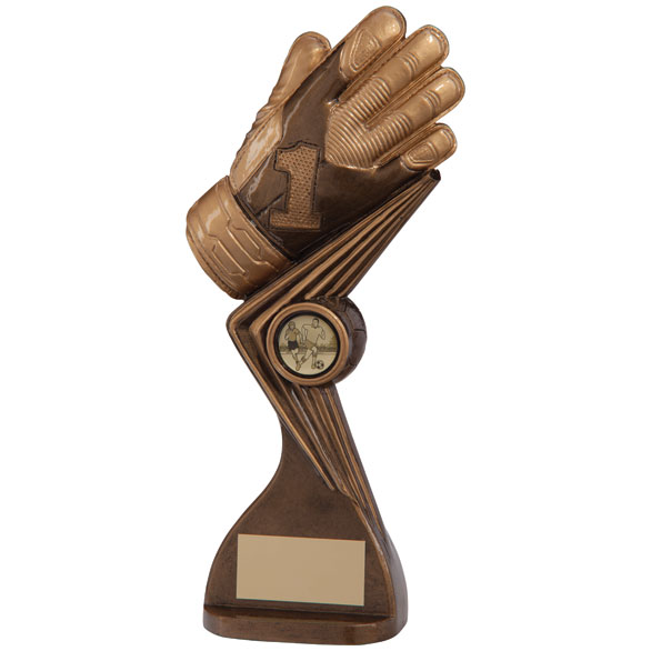 The Falcon Goalkeeper Football Award 220mm