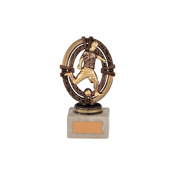Maverick Legend Football Player Bronze 135mm