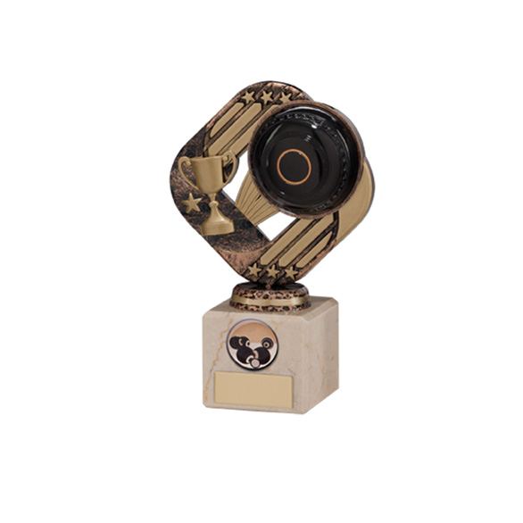 Galaxy Legend Block Trophy Lawn Bowls 160mm