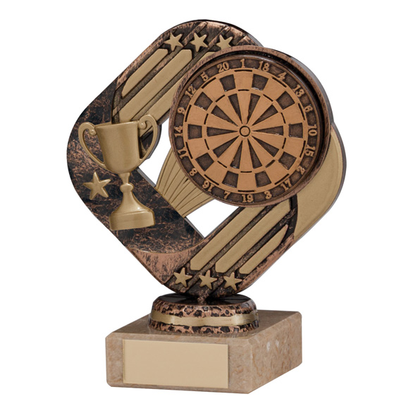 Galaxy Legend Block Trophy Dart Board 130mm