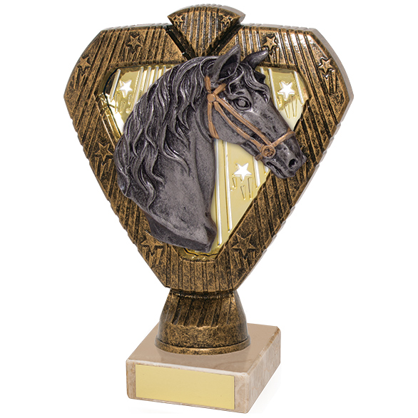 Hero Legend Equestrian Horse Award 165mm