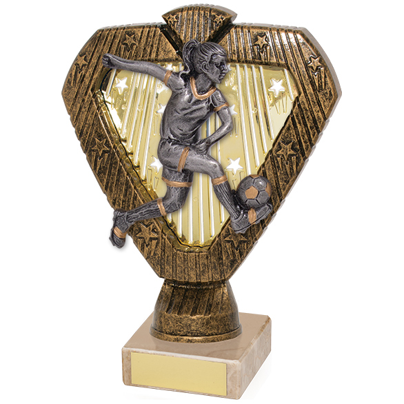 Hero Legend Football Female Award 165mm