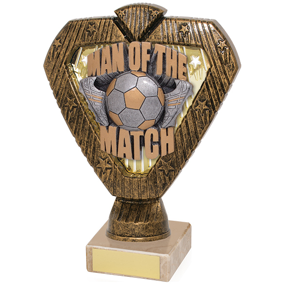 Hero Legend Man Of The Match Award 165mm