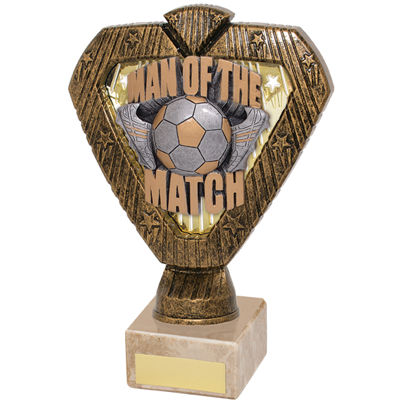 Hero Legend Man Of The Match Award 180mm