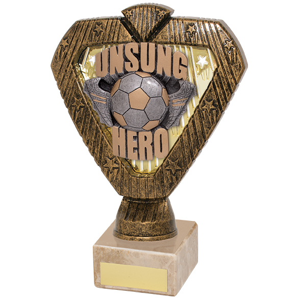 Hero Legend Football Unsung Hero Award 180mm