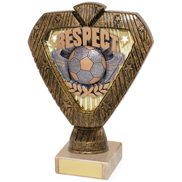 Hero Legend Football Respect Award 165mm