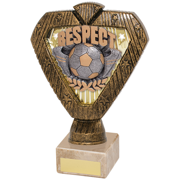Hero Legend Football Respect Award 180mm