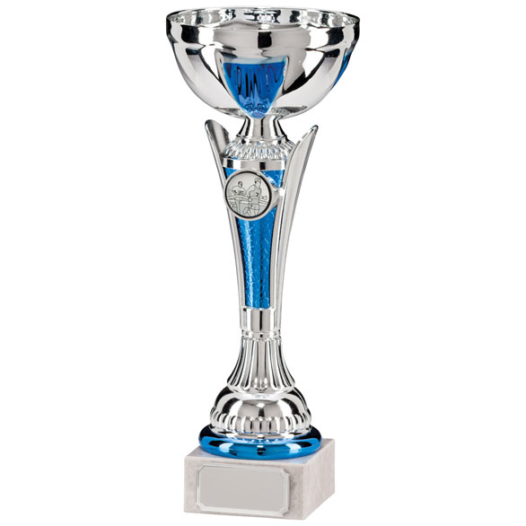 Conquest Silver & Blue Cup 230mm