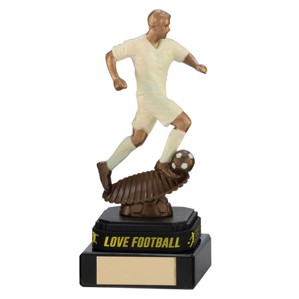 Spirit Storm Cream Football Award & TB 160mm