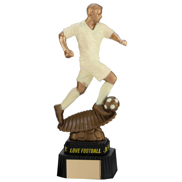Spirit Storm Cream Football Award & TB 220mm