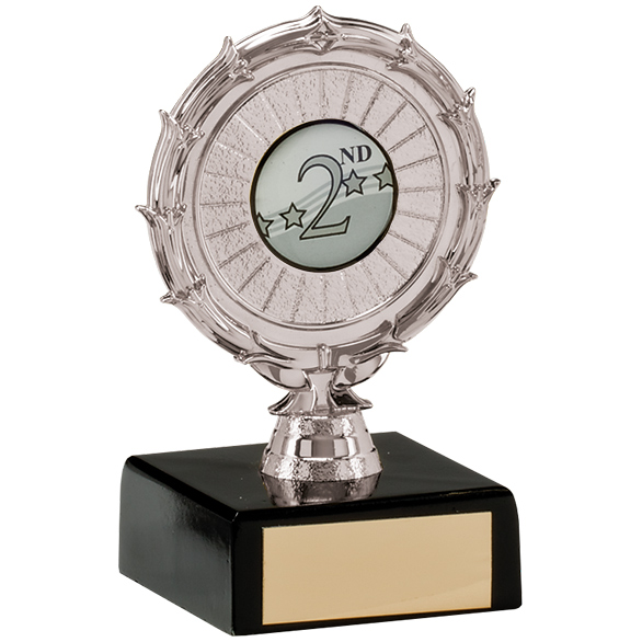Spiral Multi-Sport Trophy Silver 95mm